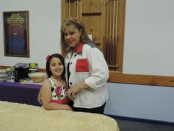 Laura & granddaughter