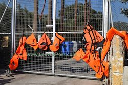 the life vests protest