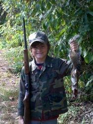 Dalton's first squirrel