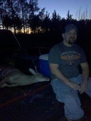 Tony with Buck
