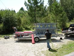 LOADING ALL 4 TOWERS FOR TRANSPORT