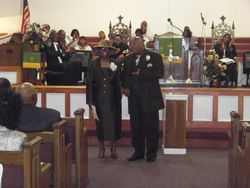 Rev. and Mrs. Franklin - 1st Anniversary Celebration