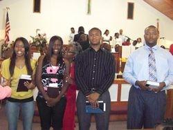 The Graduates - Alex, Cori, Ananias, Franklin