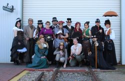 Steampunk SA and ACG members