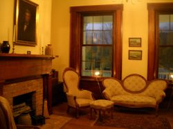 The Downstairs Parlor Area