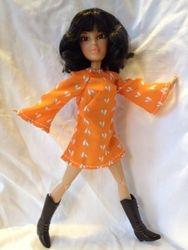 Dawn's Tangerine Dream dress