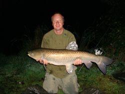 Marks Grass Carp 20lb exactly caught  Sat 3rd October 09