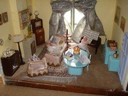 Mrs Manda's sitting room
