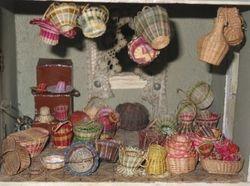 Mystery baskets.