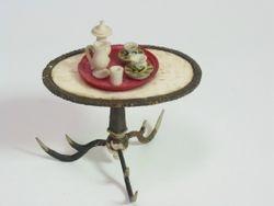 antler tea table