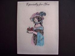 Rosalie Card painted