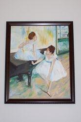 Degas Dancers at Rest