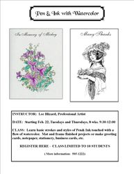 Floral and Rosalie Ad