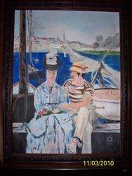 Manet's Argenteuil