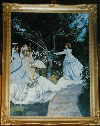 Monet's Women in the Garden