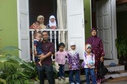 Syakiah and family