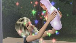 Simself and Baby