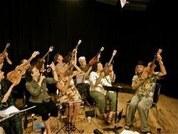 Vt Ukes at the VCAM Studio July 5, 2010