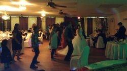 Line Dance in a wedding Dress