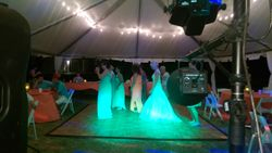A intamate dance floor