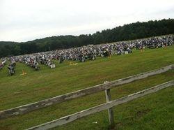 A field full of bikes