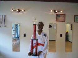 Grandma Ninja wins again