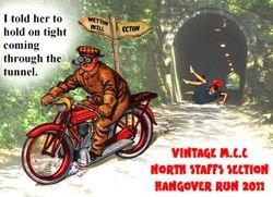 2011 Hangover Run postcard