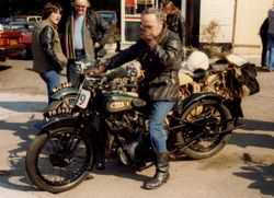 1982 Phill Slater, Founder Member.