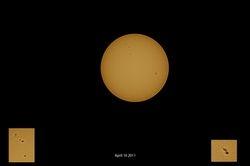 Sunspots 16/0402011