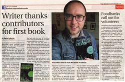 Story about my novella in the Romford Recorder