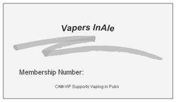 Membership Card - back