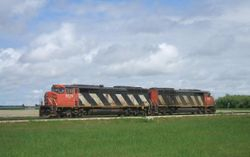 CN 5529 and 5523