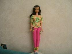 Midnight Black Color Magic Barbie