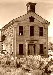 Masonic Building Before Work Began