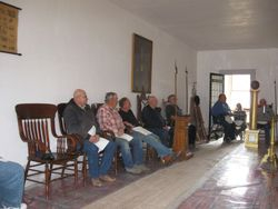 Bannack Historic Lodge No. 3-7-77 Hold a Meeting at the End of the Day