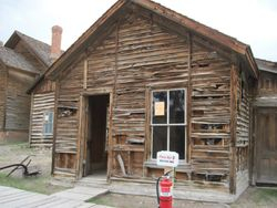 Safety Station in Bannack