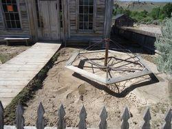 Masonic Lodge/Schoolhouse entrance
