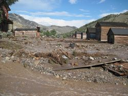 Bannack Flood July 17, 2013 4:30 PM