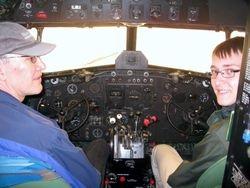 DC-3 with Schafer & Son