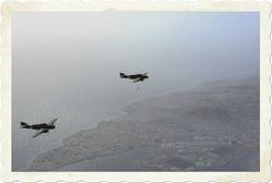 SM79s over Valletta