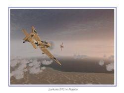 Ju87s over Algeria