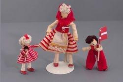 Marcie's 3 Danish Dolls