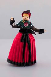Marcie's metal foot Danish regional doll