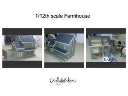 1/12th scale Farmhouse