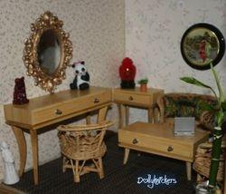 1/6th scale furniture Bamboo