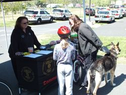 GTPD Bicycle Safety Rodeo and Dog Walkers Watch 2015