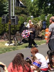 Memorial Day Wreath Laying Veterans Park, Gloucester Twp