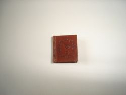 Leather bound copy of Shakespeare's poems by