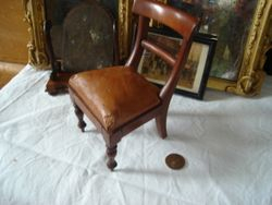 1/6 scale chair c.1850