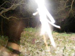 Ghostly figure...